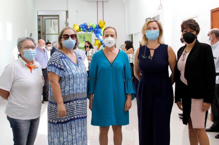 Cristina Colonese, Maria Elisa Husbert, Vanda Petean, Denise Canetto e Regiane Mendes