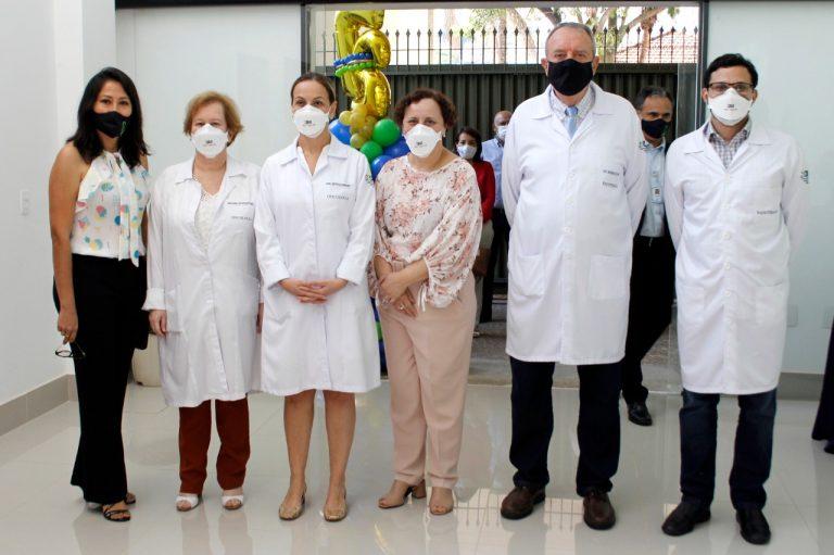 Tânia Navarro, Ana Lúcia Leistner, Kátia Loureiro, Mary Thereza da Silva, Werner Schlupp e Caio Jorge