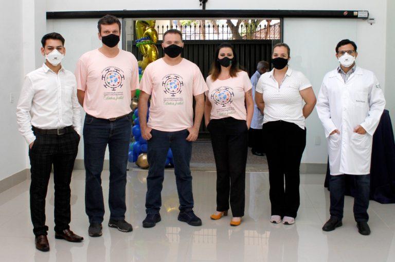 Danilo Bérgamo, Fernando Chiarinelli Klefenz, Anderson Timossi, Louruana Silva Rodrigues, Rafaela Carvalho e Caio Jorge