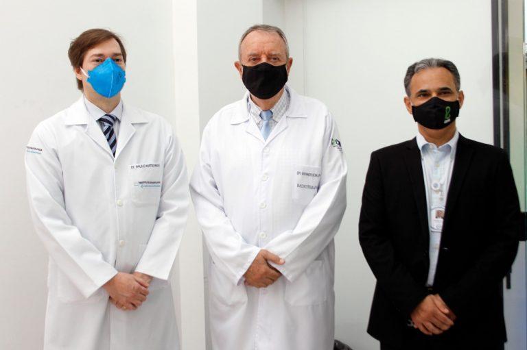 Paulo Hatschback, Werner Schlupp e Antonio Amaro Moreira