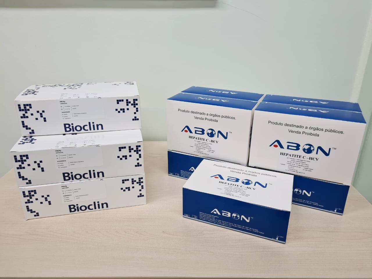 Foto 2- Cecan recebe testes rápidos para exames de prevenção e diagnóstico das hepatites B e C